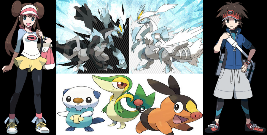 Pokemon black and white 2 wallpaper by dragonborn9617 on - Pokemon black 2 wallpaper ...