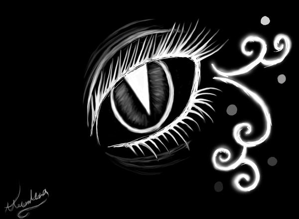 Black and White Demon Eye by ReyHai on DeviantArt