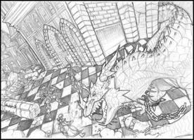 Eterna batalla by rollwulf