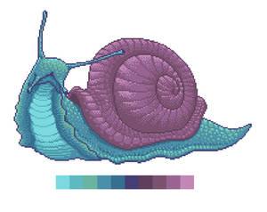 Fancy Snail