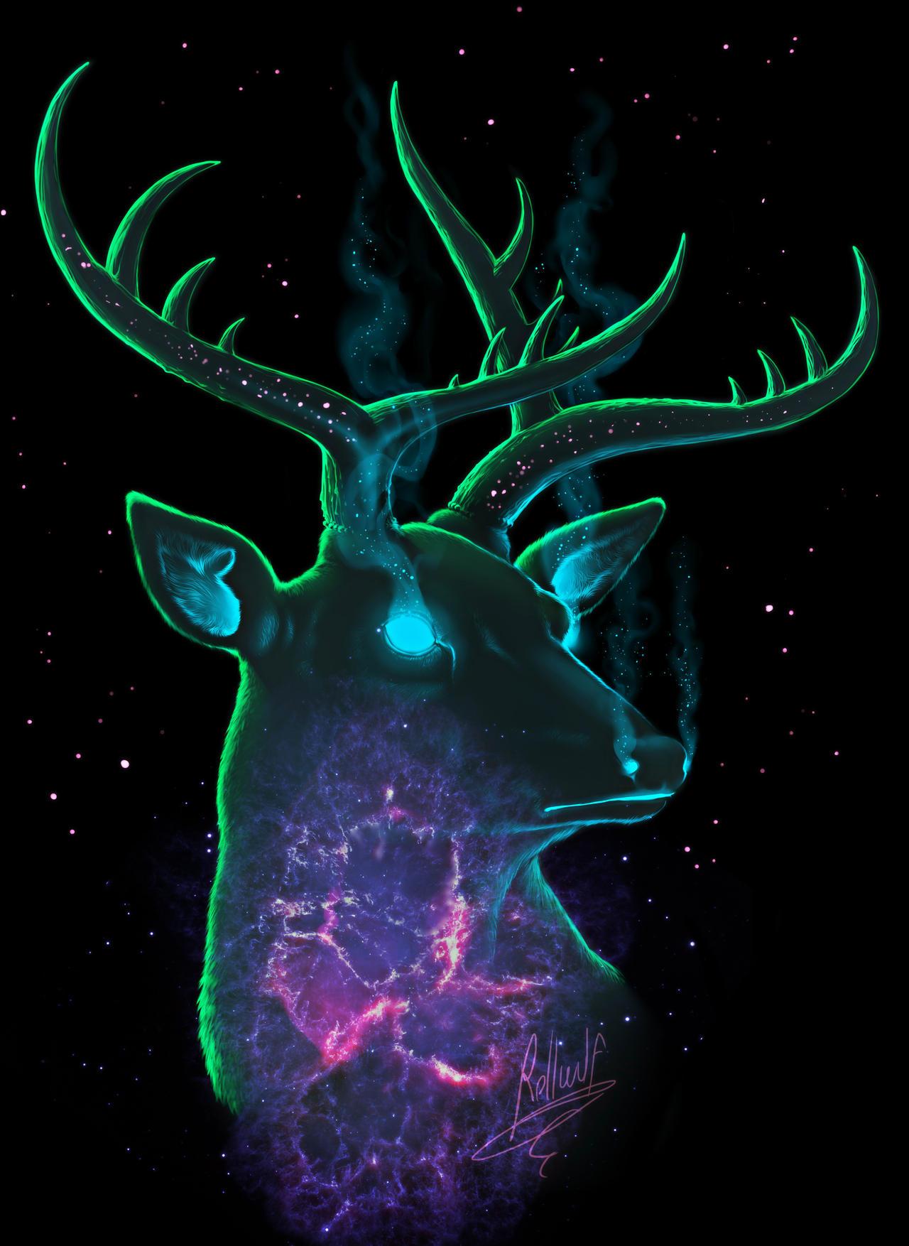 Deer from spaceeeeeee