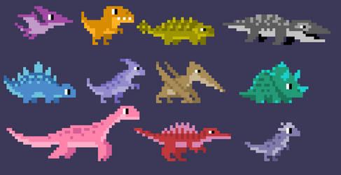Pixelsaurs