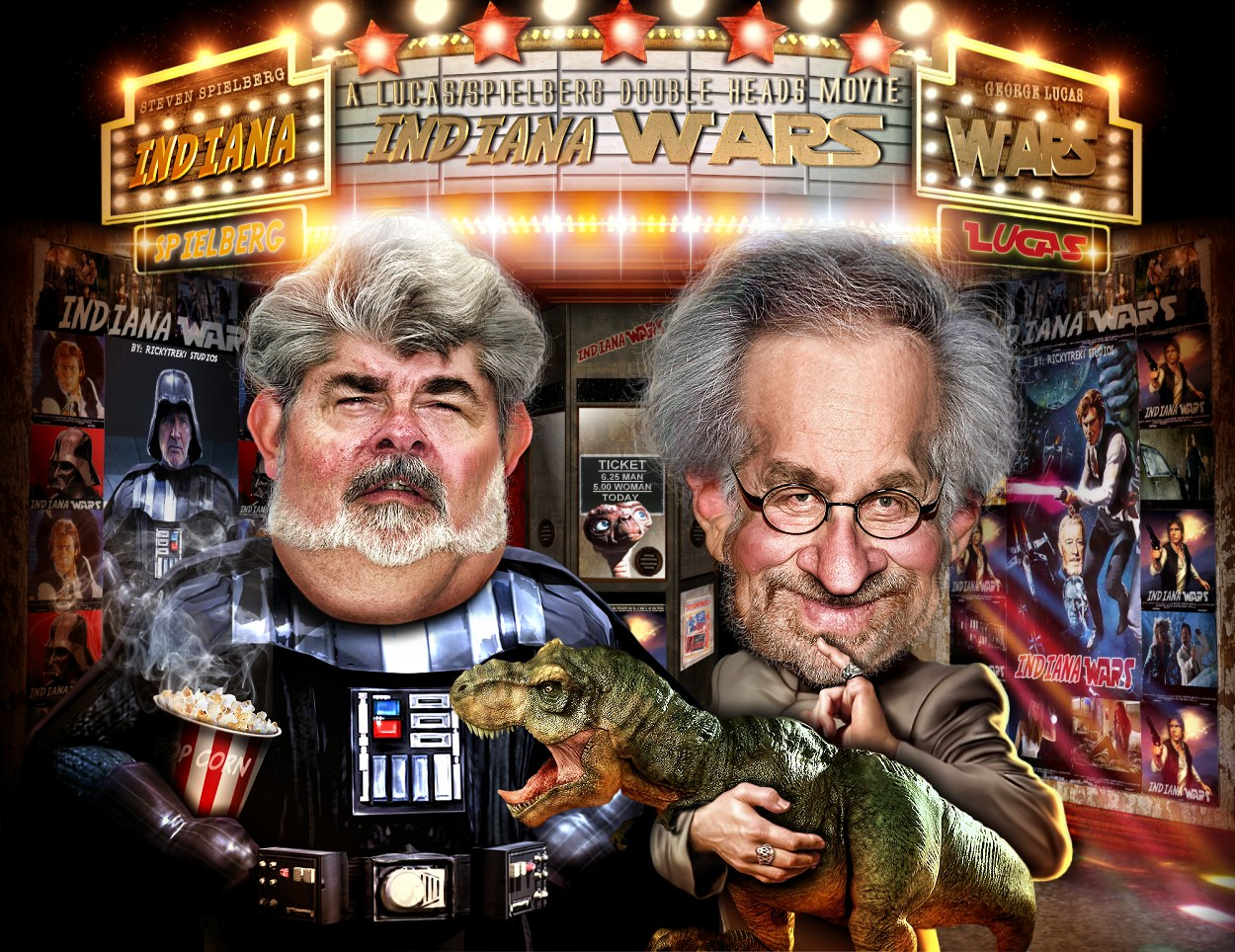 'INDIANA WARS' BY SPIELBERG AND LUCAS