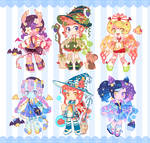 Set Adoptables for sale! [CLOSED]