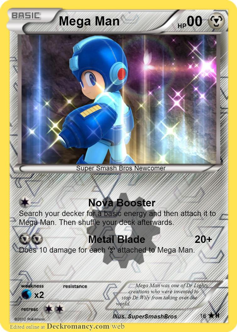 16- Megaman by MrPokemonBlack123