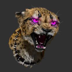 Cyberpunk Cheetah