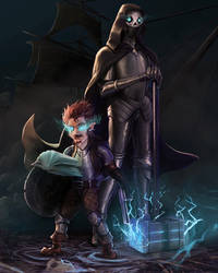 The Artificer of Fate and His Grim Companion