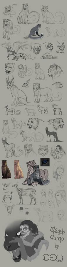Tumblr Sketchdump #4