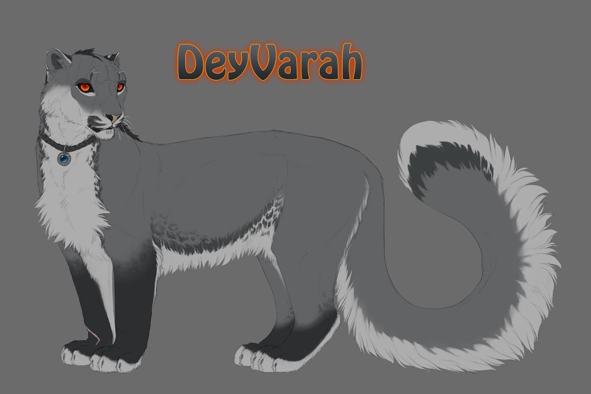 DeyVarah Fursona Reference 2013 by DeyVarah
