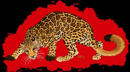 Commission - Red Eyed Jaguar