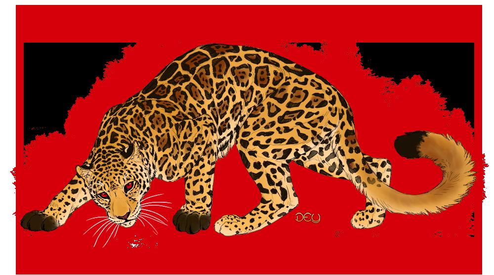Commission - Red Eyed Jaguar by DeyVarah