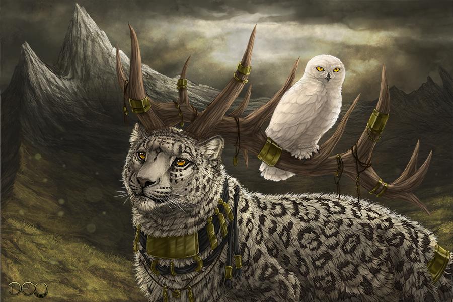 The Mountain Sage by DeyVarah
