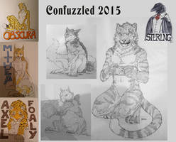 Confuzzled Sketches by DeyVarah