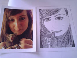 Me and my hamster Goggles by Natashalea