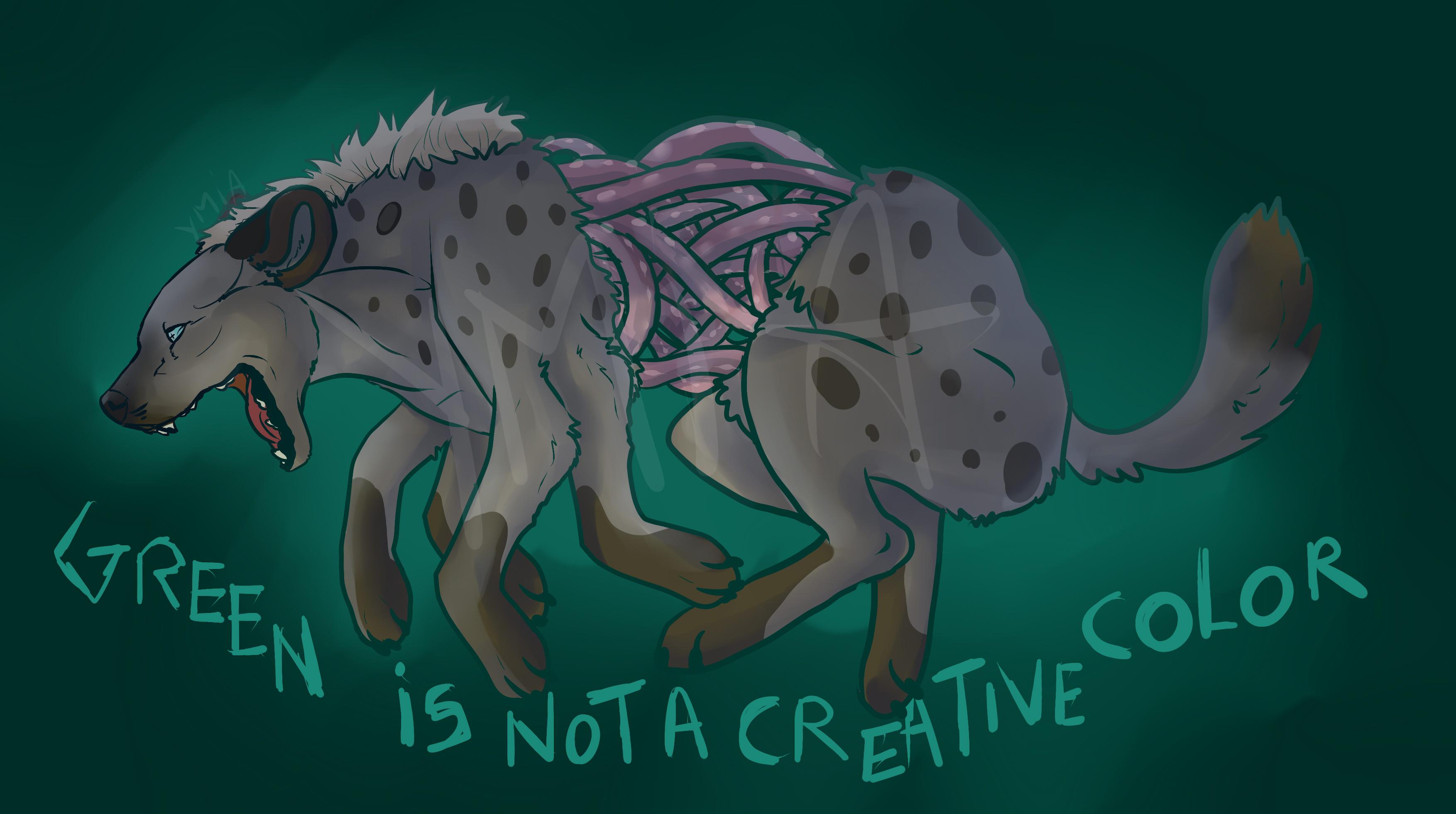 hyena by Ymia-the-cheetah