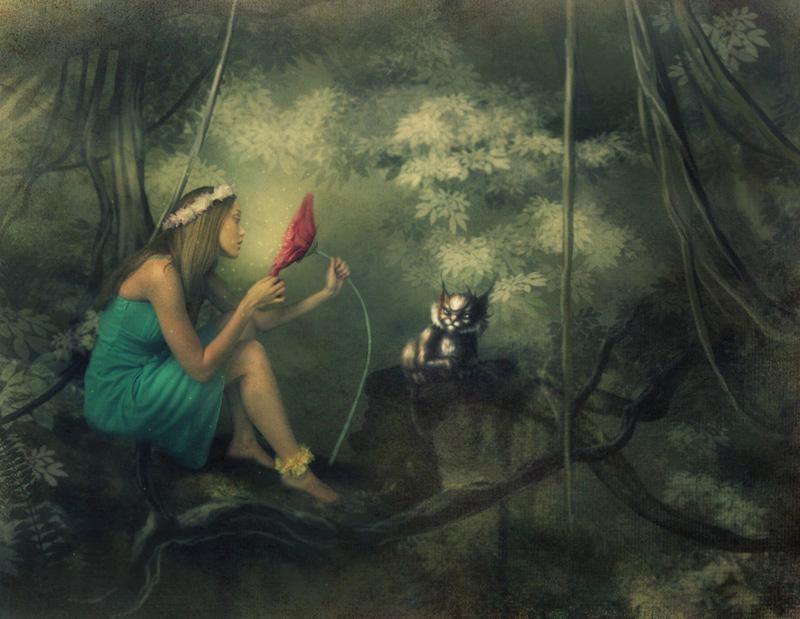 magic forest by albortu