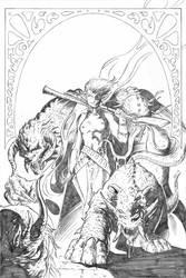 Chronicles of Garas 3 Cover by Lawbringer-Vypr