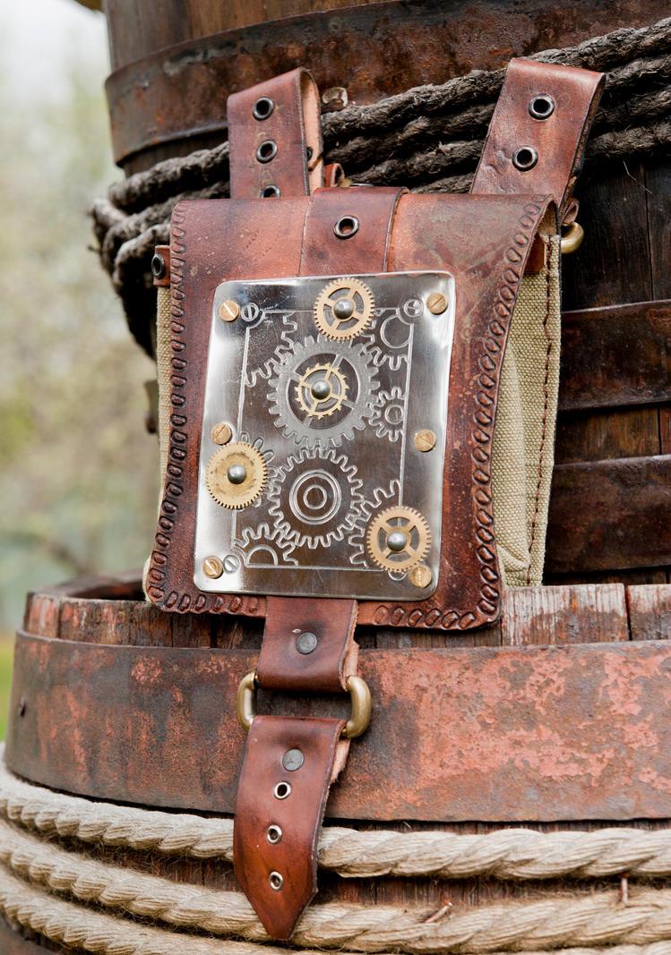 steampunk bag by vofffka