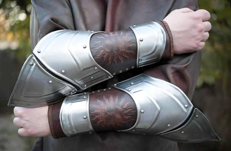 LARP Arm Bracers by vofffka