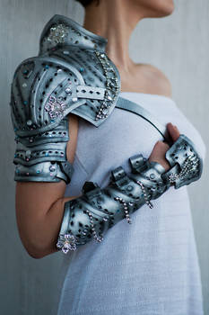 Pauldrons and Arm Braces