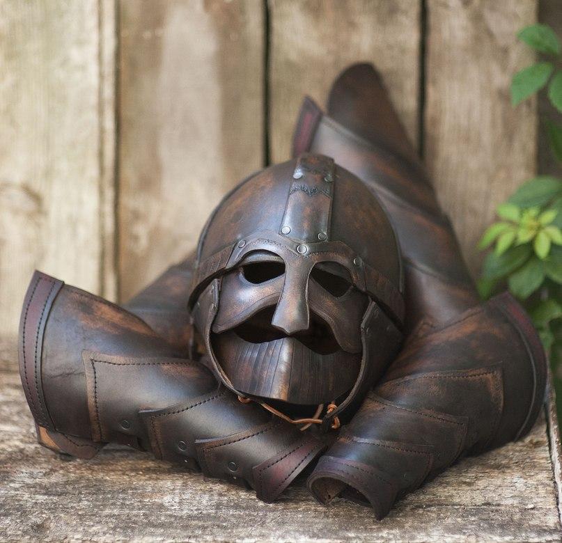 barbarian armor by vofffka