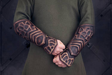 Thorin Oakenshield arm bracers by vofffka