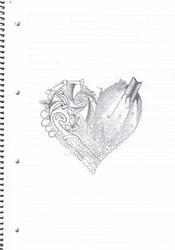 Dark Lighted Heart