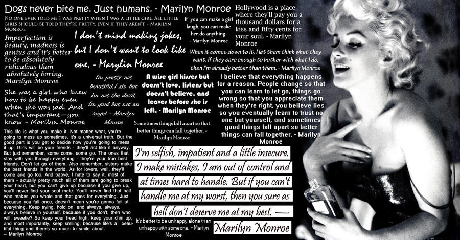 Marilyn Monroe Quotes by WeAreBroken28Quotes From Marilyn Monroe