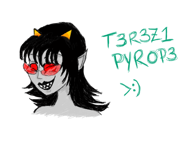 Terezi Pyrope by GhostGirl818