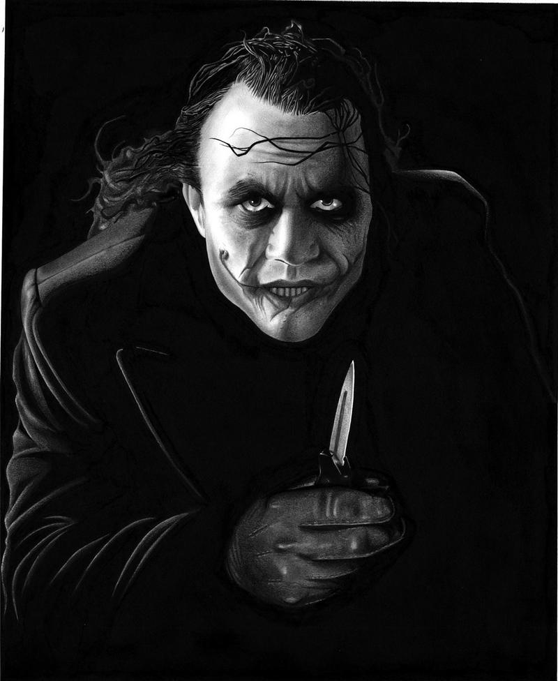 The Joker. by DMThompson