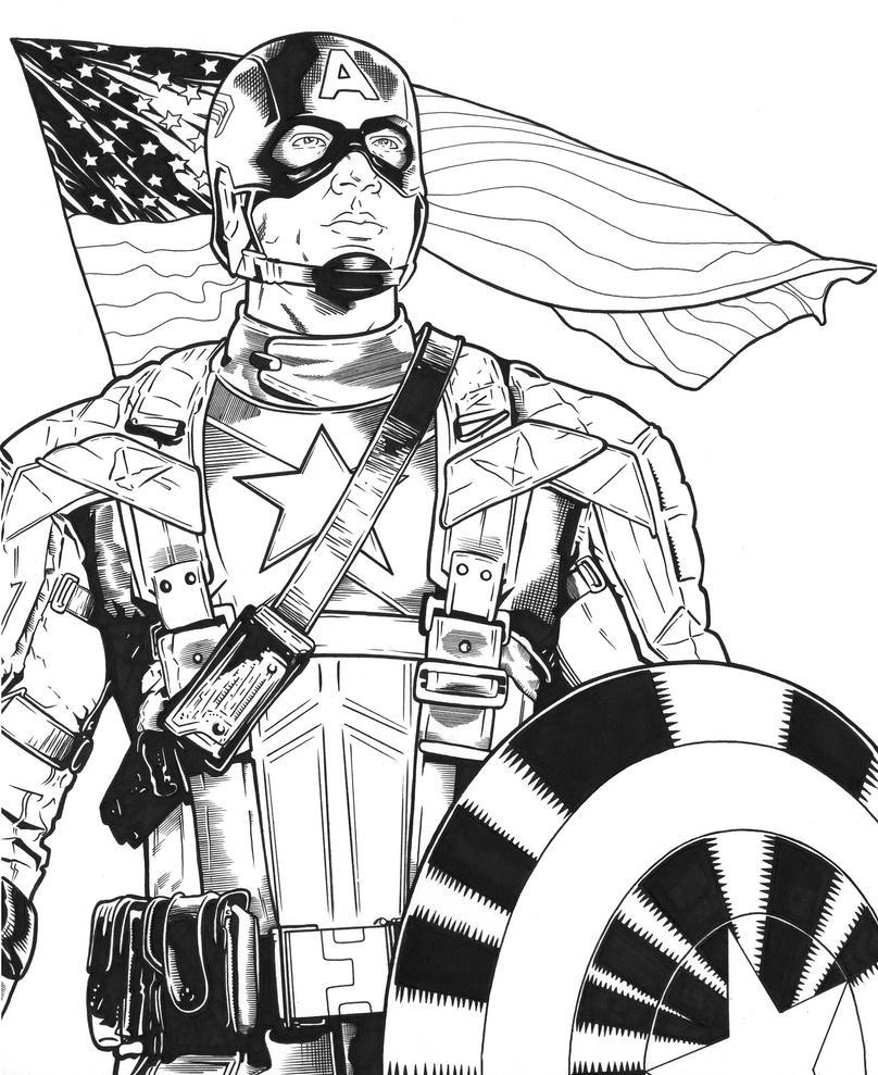 Captain America by DMThompson on DeviantArt