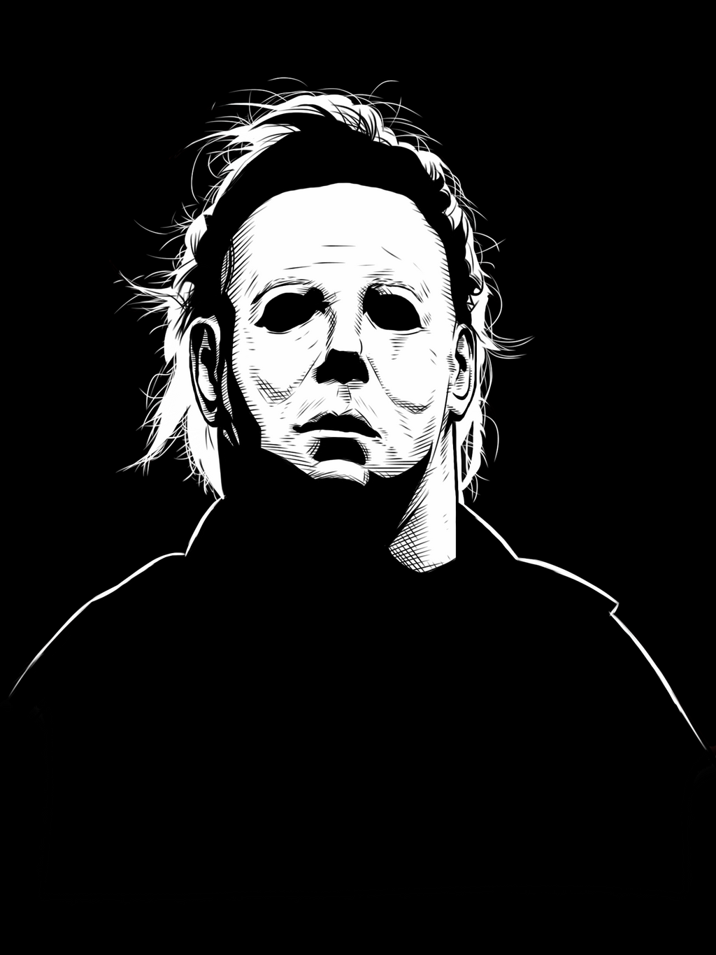 Ipad michael myers by dmthompson on deviantart for Michael myers coloring pages