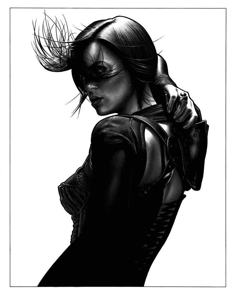 Aeon Flux version 2 by DMThompson