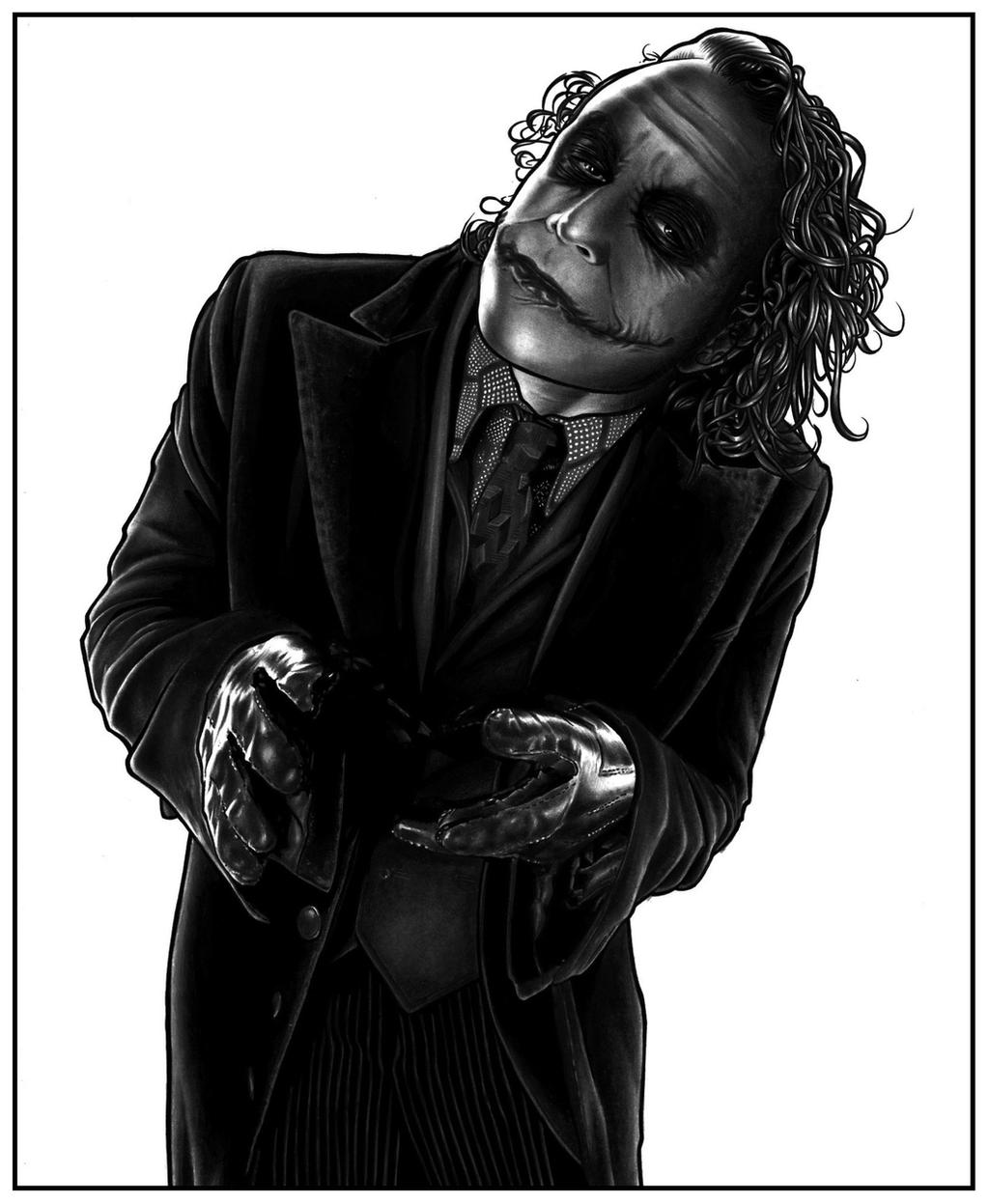The Joker - 8 by DMThompson