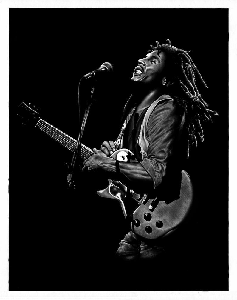 Bob Marley by DMThompson