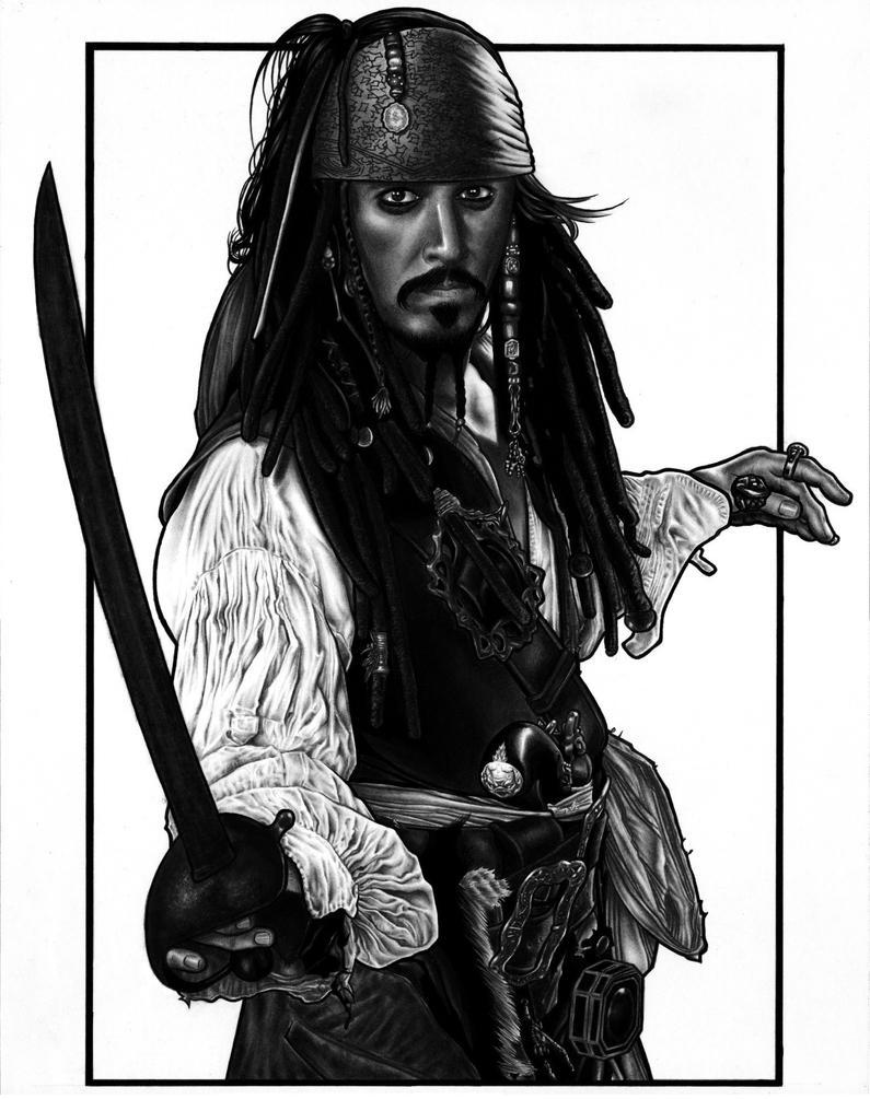 Captain Jack Sparrow by DMThompson