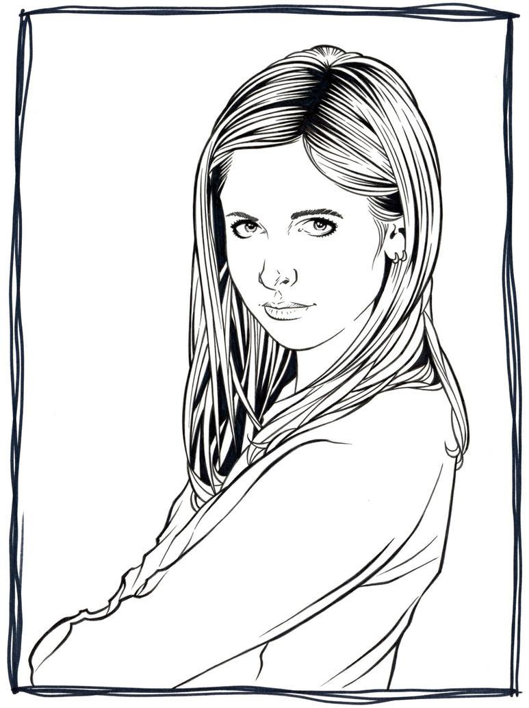 Buffy by DMThompson