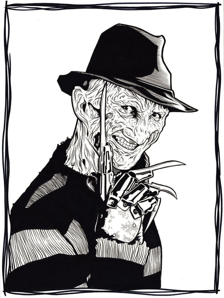 Freddy Krueger by DMThompson