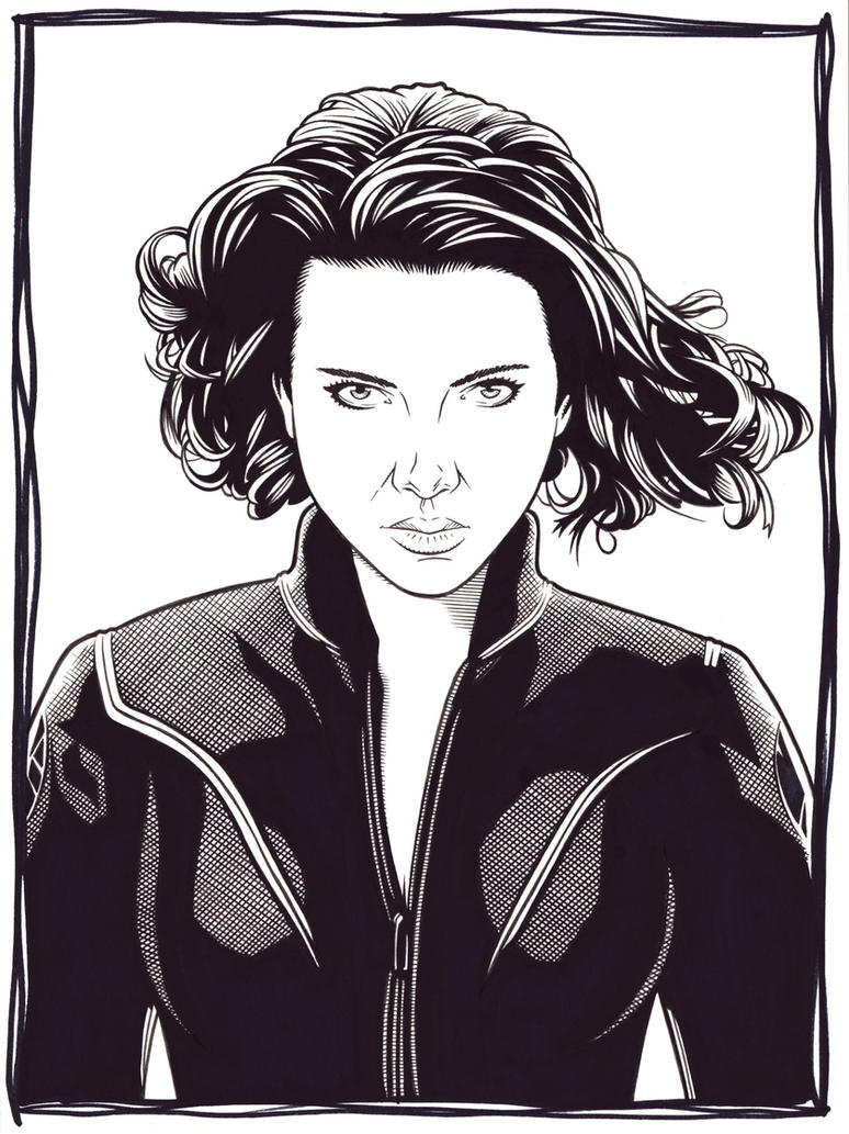 Black Widow by DMThompson