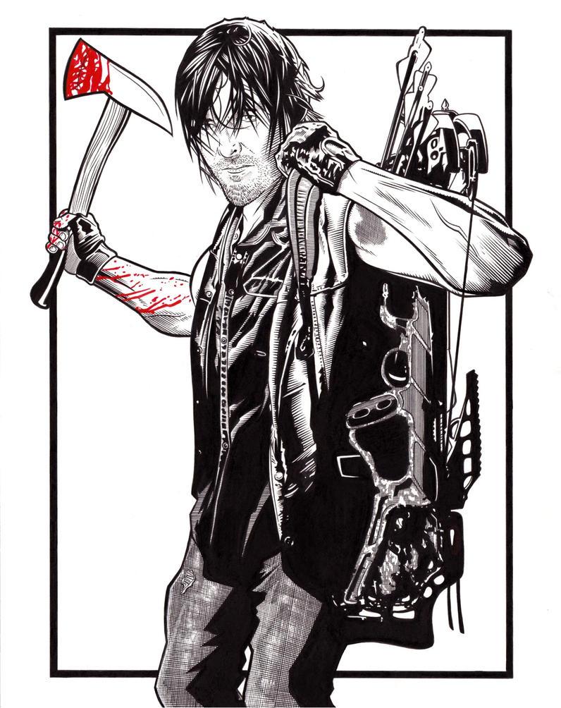 Daryl Dixon by DMThompson