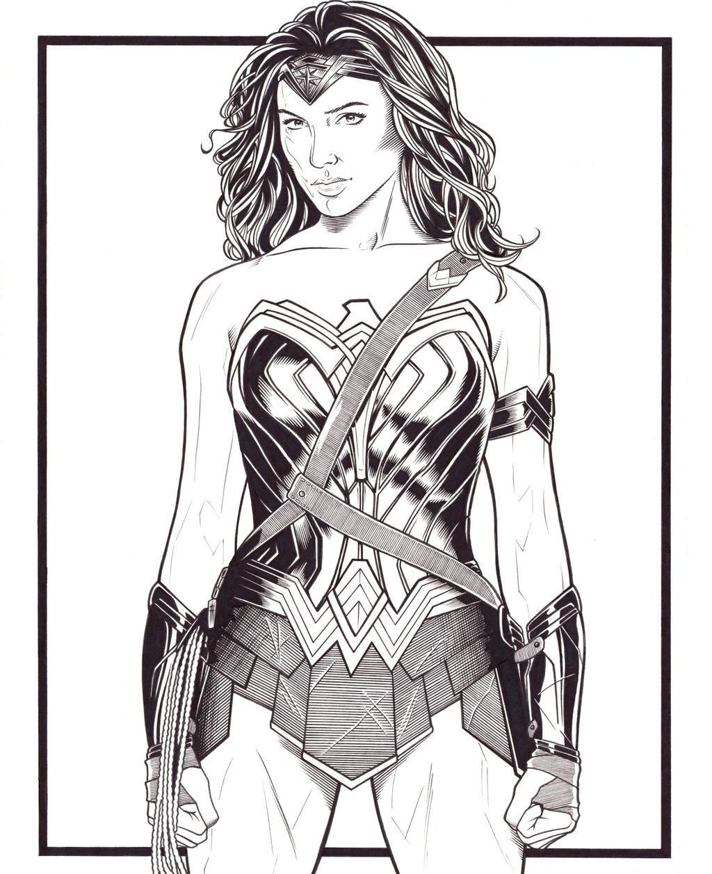 wonder woman by dmthompson on deviantart
