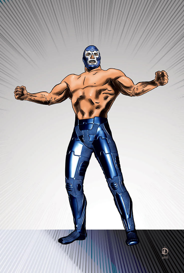 Blue Demon by tibi-dabo