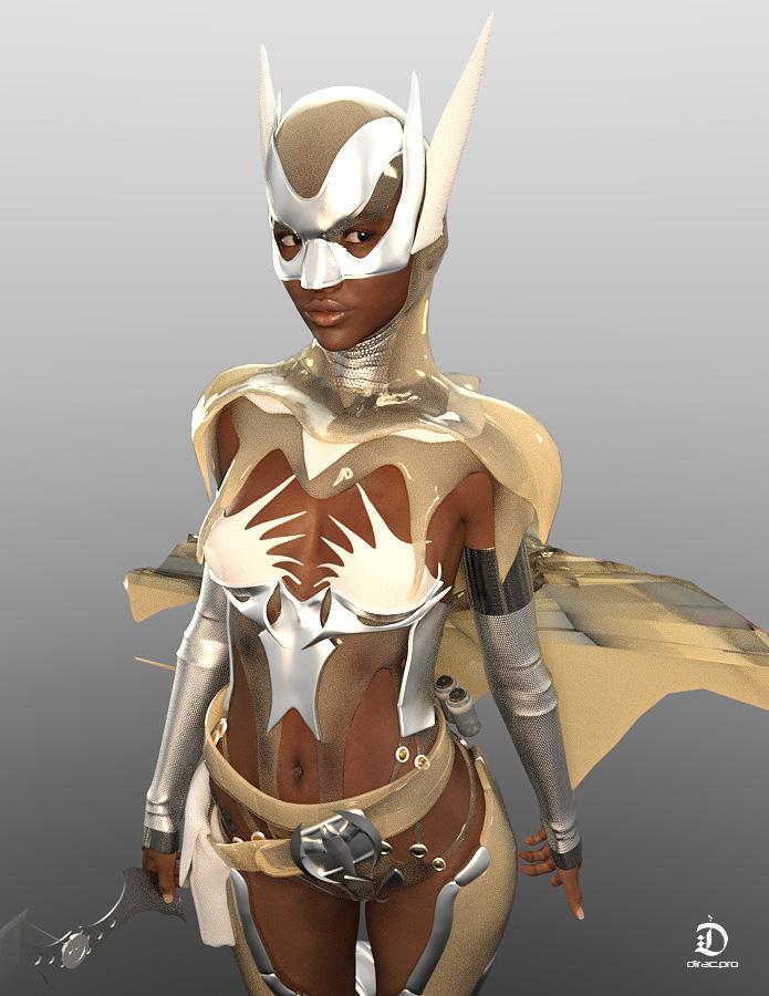 Batgirl by dirac-art