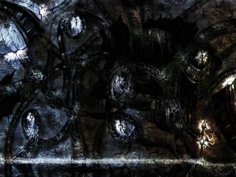 Glowing Metall swirl by Mathildaw