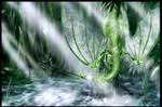 Raindrop dragon
