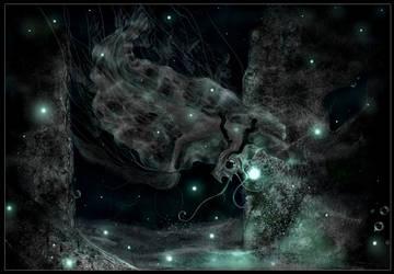 Deep sea dragon by Mathildaw