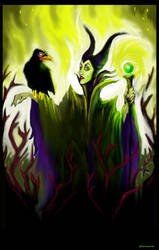 Maleficent WIP by Homocynical (2)