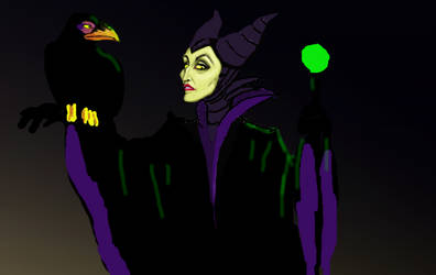 Maleficent WIP (1) by homocynical