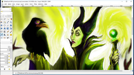 Maleficent WIP (2a) by homocynical
