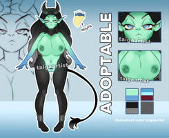 ADOPTABLE AUCTION   OPEN by taigaartist